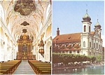 Lucerne Jesuit Church Postcard n0093