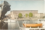 Click here to enlarge image and see more about item n0099: Stockholm Royal Palace Postcard