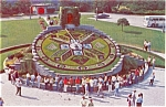 Click here to enlarge image and see more about item n0105: Ontario Hydro s Floral Clock Canada n0105