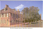 Click here to enlarge image and see more about item n0114: Star Spangled Banner House Baltimore MD Postcard n0114