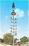 Click here to enlarge image and see more about item n0116: Maypole Frankenmuth MI  Postcard