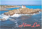 Click here to enlarge image and see more about item n0261: York Beach, ME Nubble Light