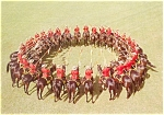 Click here to enlarge image and see more about item n0283: RCMP Musical Ride Canada Postcard n0283