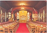 Click here to enlarge image and see more about item n0285: RCMP Chapel in Regina Canada Postcard n0285