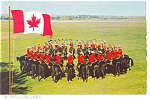 Click here to enlarge image and see more about item n0294: Royal Canadian Mounted Police Postcard