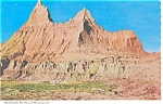 Click here to enlarge image and see more about item n0296: Badlands National Monument South Dakota