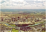 Click here to enlarge image and see more about item n0298: Calgary, Alberta, Canada, Aerial View