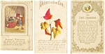 Victorian Religious Trade Cards Lot (3)