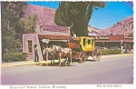 Stagecoach Station Jackson Hole Wyoming n0335