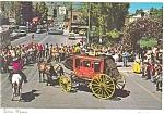 Jackson , Wyoming, Street Scene Stagecoach