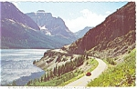 Click here to enlarge image and see more about item n0342: St Mary Lake, Glacier National Park, MT