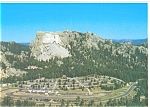 Mt Rushmore Complex South Dakota Postcard n0344