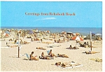 Click here to enlarge image and see more about item n0365: Rehoboth Beach, DE Beach Scene