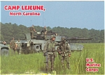 Click here to enlarge image and see more about item n0366: Camp Lejune North Carolina M60 Tank n0366