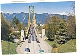 Click here to enlarge image and see more about item n0384:  Lions Gate Bridge, Vancouver, B.C..