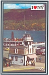 Click here to enlarge image and see more about item n0388: MV Mohican at Dockside Lake George NY n0388