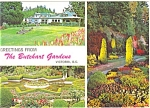 Click here to enlarge image and see more about item n0390: Butchart Gardens, Vancouver BC Canada