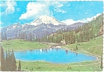 Click here to enlarge image and see more about item n0395: Mt Rainier and Tipsu Lake Washington n0395