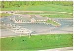 Click here to enlarge image and see more about item n0447: Ohio Turnpike Service Plaza Postcard n0447
