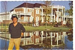 Click here to enlarge image and see more about item n0449: Hendersonville,TN Conway Twitty and His Home Postcard