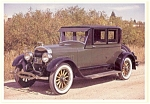 Click here to enlarge image and see more about item n0472: 1925 Lincoln Doctor's Coupe  Postcard