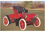 Click here to enlarge image and see more about item n0477: 1903 Model A Runabout  Postcard n0477