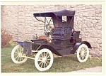 1908 Model S Runabout Postcard n0480
