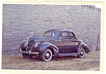 Click here to enlarge image and see more about item n0485: 1939 Ford V-8 5 Window Coupe Postcard n0485