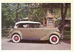 Click here to enlarge image and see more about item n0489: 1935 Ford V-8 Phaeton Postcard n0489