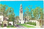 San Diego, CA, California Tower Postcard