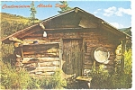 Click here to enlarge image and see more about item n0509: Condominium Alaska Style Postcard n0509