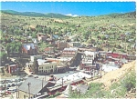 Click here to enlarge image and see more about item n0545: Central City CO Panoramic View  Postcard n0545