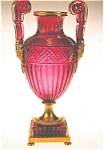 Click here to enlarge image and see more about item n0570: Medici Vase Russia Imperial Glassworks Postcard n0570