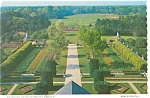 Williamsburg VA Gardens at Governor s Palace Postcard n0618