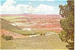 Arizona, The Painted Desert Postcard