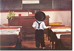 Amish One Room School Postcard n0629