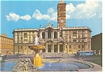 Click here to enlarge image and see more about item n0659: Rome, Italy,  Basilica S.Maria Maggiore Postcard