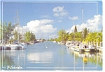 Florida Waterway Postcard n0707