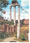 Click here to enlarge image and see more about item n0730: Rome, Italy The Roman Forum Postcard