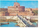 Click here to enlarge image and see more about item n0731: Rome, Italy St. Angelo Castle Postcard