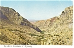 Big Horn Mountains Wyoming Postcard n0745