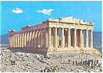Athens, Greece The Parthenon Postcard