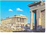 Click here to enlarge image and see more about item n0753: Athens, Greece View of The Parthenon Postcard