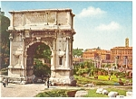 Click here to enlarge image and see more about item n0761: Rome, Italy, View of The Arc of Titus Postcard