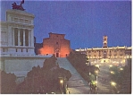 Click here to enlarge image and see more about item n0766: Rome, Italy, Ara Colei Stairs and Capitol Postcard