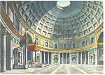 Click here to enlarge image and see more about item n0796: Rome Italy Interior of The Pantheon  Postcard n0796