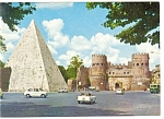 Click here to enlarge image and see more about item n0797: Rome, Italy, The Pyramid of  Caius Cestis Postcard