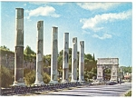 Click here to enlarge image and see more about item n0800: Rome, Italy, The Arc of Titus Postcard