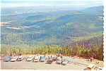 Lookout Point,Olympic National Park Postcard Old Cars