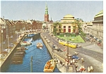 Click here to enlarge image and see more about item n0813: Copenhagen, Denmark Trolley Postcard